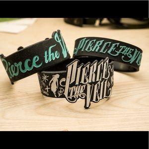 3 Pierce the Veil punk grunge bracelets